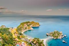 Beautiful landscape of Taormina, Italy. Royalty Free Stock Photo