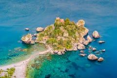 Beautiful landscape of Taormina, Italy. Stock Image