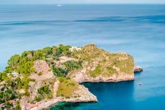 Beautiful landscape of Taormina, Italy. Stock Photo