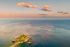 Beautiful landscape of Taormina, Italy. Stock Photography
