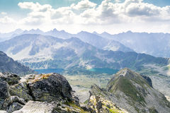 Beautiful landscape of Tatra Mountains National Park Royalty Free Stock Images