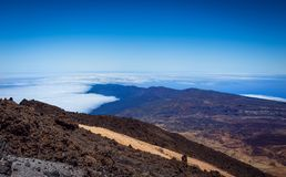 Beautiful landscape of Teide national park, Tenerife, Canary is stock images