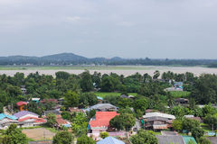 Beautiful landscape. Of Tham Khao noi Temple Kanchanaburi Thailand Stock Photo