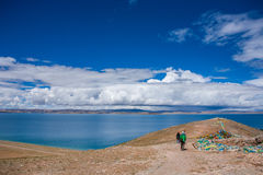 Beautiful landscape in Tibet of China Stock Photo