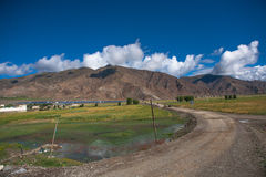 Beautiful landscape in Tibet of China Royalty Free Stock Image