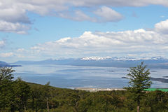 Beautiful landscape from Tierra del Fuego Royalty Free Stock Photos
