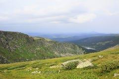 Beautiful landscape top of ridge Iolgo Stock Image
