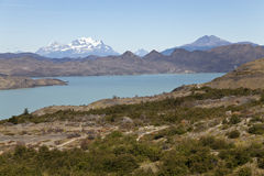 Beautiful landscape at Torres del Paine. Chile Royalty Free Stock Images