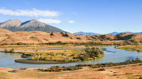 Beautiful landscape in Torres del Paine National Park in Patagon Stock Photography