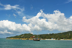 Beautiful landscape. Traveller drea. Paradise island in Thailand. Beautiful landscape. Traveller drea Stock Photos