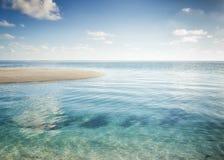 Beautiful landscape of a tropical Island. Beautiful tropical sea Island landscape stock photography