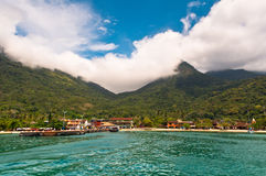 Beautiful Landscape of a Tropical Island Stock Images