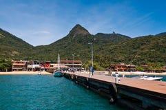 Beautiful Landscape of a Tropical Island Stock Image