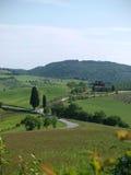 The beautiful landscape of Tuscany. Stock Images