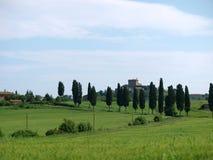 The beautiful landscape of Tuscany. Stock Photo