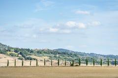 Beautiful landscape Tuscany Stock Images
