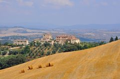 Beautiful landscape in Tuscany, Italy Royalty Free Stock Photo