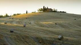 Beautiful landscape in Tuscany Stock Photos