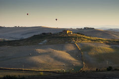 Beautiful landscape in Tuscany Stock Image