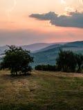 Beautiful landscape Tuscany Italy Stock Photos