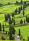 Beautiful landscape of Tuscany Royalty Free Stock Image