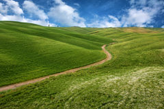 Beautiful landscape in Tuscany Royalty Free Stock Image