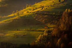 Beautiful landscape of a valley Stock Image