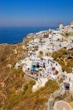 Beautiful landscape view. (Santorini Island, Greece Royalty Free Stock Photo