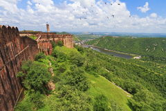 Beautiful Landscape View From Jaigarh Fort Stock Photography