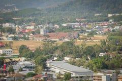 Beautiful landscape view of Phuket city from Khao Rang viewpoint Stock Photo