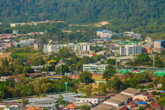 Beautiful landscape view of Phuket city from Khao Rang viewpoint Royalty Free Stock Images