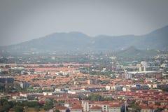 Beautiful landscape view of Phuket city from Khao Rang viewpoint Royalty Free Stock Image