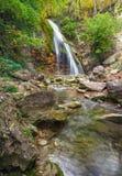 Beautiful landscape with waterfall Stock Photo
