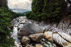 Beautiful landscape at wawa dam at Rizal Province. Philippines stock photography