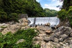Beautiful landscape at wawa dam at Rizal Province. Philippines royalty free stock images