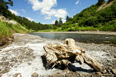 Beautiful Landscape With River Stock Photography