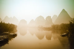 Beautiful landscape in yangshuo Royalty Free Stock Photography