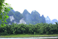 Beautiful landscape in yangshuo Stock Images