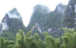 Beautiful landscape in yangshuo Stock Image