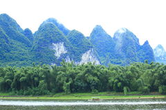Beautiful landscape in yangshuo Stock Photo