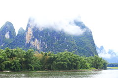 Beautiful landscape in yangshuo Stock Image