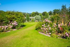 Beautiful landscaped summer garden Royalty Free Stock Photography