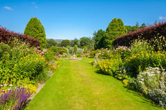 Beautiful landscaped summer garden Royalty Free Stock Images