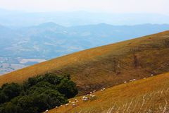 Beautiful Landscapes of the Apennines Stock Images