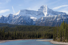 Beautiful landscapes in Banff National Park, Alber Royalty Free Stock Photos