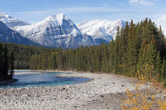 Beautiful landscapes in Banff National Park, Alber Royalty Free Stock Images