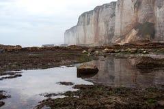 Beautiful landscapes of Etretat Stock Image