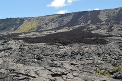 Beautiful Landscapes Of Extinct Lava Rivers. Royalty Free Stock Photos
