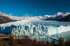 Beautiful landscapes of Perito moreno Glacier, Argentina Royalty Free Stock Photos
