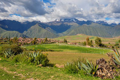 Beautiful Landscapes of Peru, near Abancay Stock Photography